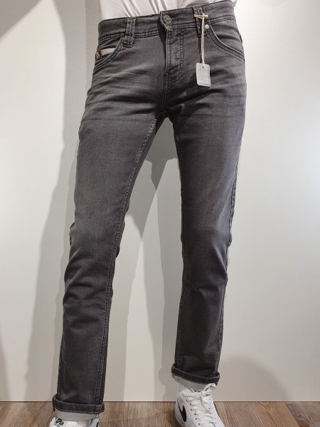 Jeans Timezone Scott aged grey wash